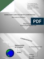 Modelo Educativo Por Competencias