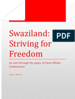 Swaziland Striving for Freedom Vol 5 May 2013