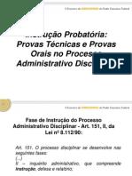 Instrucao Probatoria No Proc Adm 8112