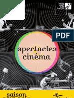 Spectacles & cinéma 2013-2014