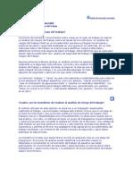 Analisis Del Riesgo en El Trabajo
