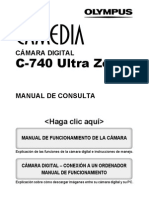 Camedia c740uz Spanish