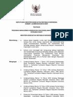 KMK No. 432 Ttg Pedoman Manajemen Kesehatan Dan Keselamatan Kerja