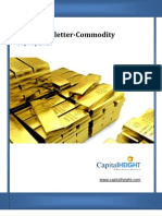 Daily Commodity Market Newsletter 03-06-2013