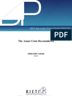 The Asian Crisis Reconsidered
