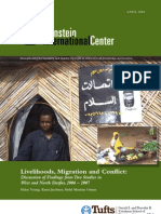 Livelihoods, Migration and Conflict