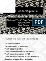Youth Leadership in Fiji