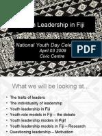 Youth Leadership in Fiji
