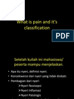 What is Pain and Classification of Pain_AHT_26 Februari 2013