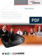 OpX303- Data Projector - Full 3D