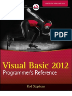Visual Basic 2012 Reference
