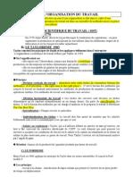 CH 9 Organisation Du Travail 2010