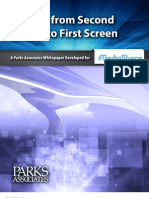 Parks Assoc Moving From Second Screen to First Screen White Paper