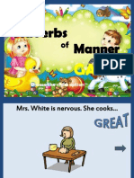 Adverbs of Manner Game