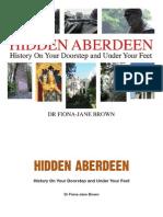 Hidden Aberdeen by Dr Fiona-Jane Brown Extract
