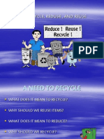 A Need to Recycle