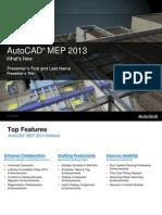 Autocad Mep 2013 Whats New Presentation En