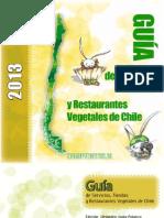 Guía de Servicios, Tiendas y Restaurantes Vegetales de Chile 2013