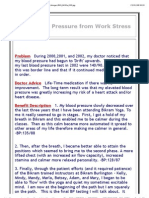High Blood Pressure From Work Stress