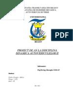Proiect La Dinamica Autovehiculelor - 4X4 MAS