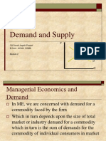 ME - Demand and Supply- Final