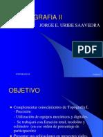 TOPOGRAFIA II Curso Clase (1,2,3,4) en Formato PDF