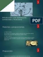 Introducción a las operaciones comerciales y financieras