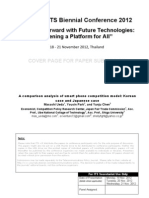 4D-1_Masashi Ueda_A Comparison Analysis of Smart Phone Competition Model