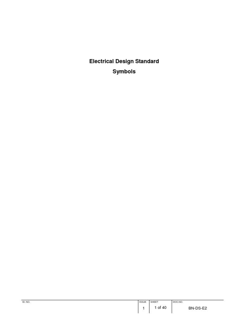 Standard electrical symbols biocorpaavc
