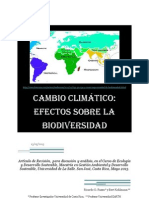 Articulo Biodiversidad y CC LaSalle Mayo-2013