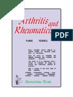 Arthritis and Rheumaticism - By Vance Ferrell