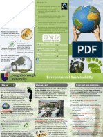Reduce Carbon Footprint Leaflet