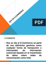 Que Es E-Commerce