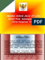 3 Point Hukum