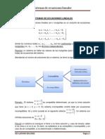 Sistemas de Ecuaciones Lineales 2 Bachillerato Ciencias Sociales