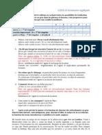 Grammaire appliquée - L2ES510 Corrigé DST2
