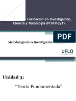 Diapositivas - Teoría Fundamentada