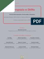 Estratti Ciberspazio e diritto n. 1 2013