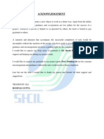 Project Report Shcil