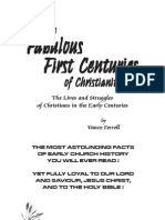 The Fabulous First Centuries of Christianity - By Vance Ferrell