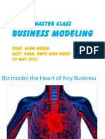 Business Modeling Master Class 29 May 2013 - Rozen