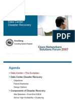 Cisco Datacenter Disaster Recovery