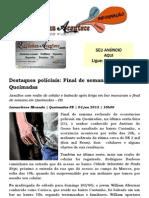 Destaques políciais Final de semana violento em Queimadas.docx