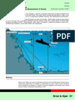 Underwater Acoustic Noise Measurement of Vessels
