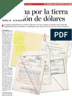 La Trama por la tierra del million de dolares,  Neir carrasco 3 DICIEMBRE La Estrella de Panama 3 of 7