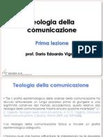 Teologia della Comunicazione 1