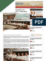"""01-06-2013 """"Los ciudadanos propusieron un gobierno de soluciones"""""""