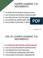 UD2. El Cuerpo Humano y El Movimiento - Alumnos
