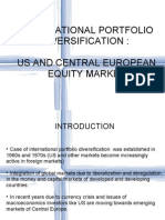 International Portfolio Diversification