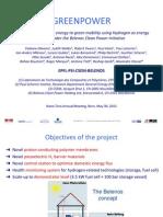 Greenpower Nano-Tera Annual Meeting 2013